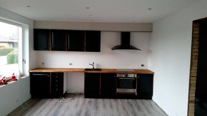 Køkken renovering